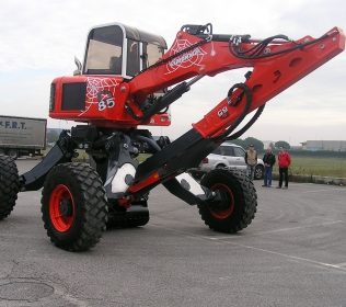 Euromach R85L Big Foot - Forester