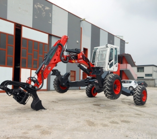 Euromach R653 Big Foot - Forester