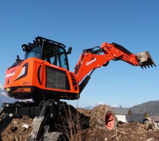 Escavatore ragno nuovo R953