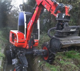 Euromach R45 Big Foot - Forester