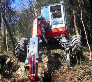 Euromach R55 Big Foot - Forester