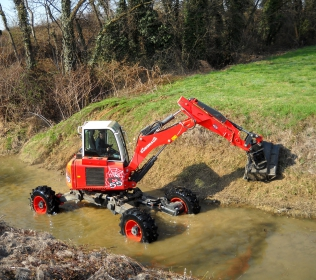 Euromach R55 Big Foot - Forester 100HP