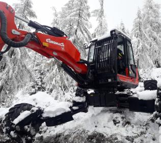 Ragno escavatore R1055 Forester