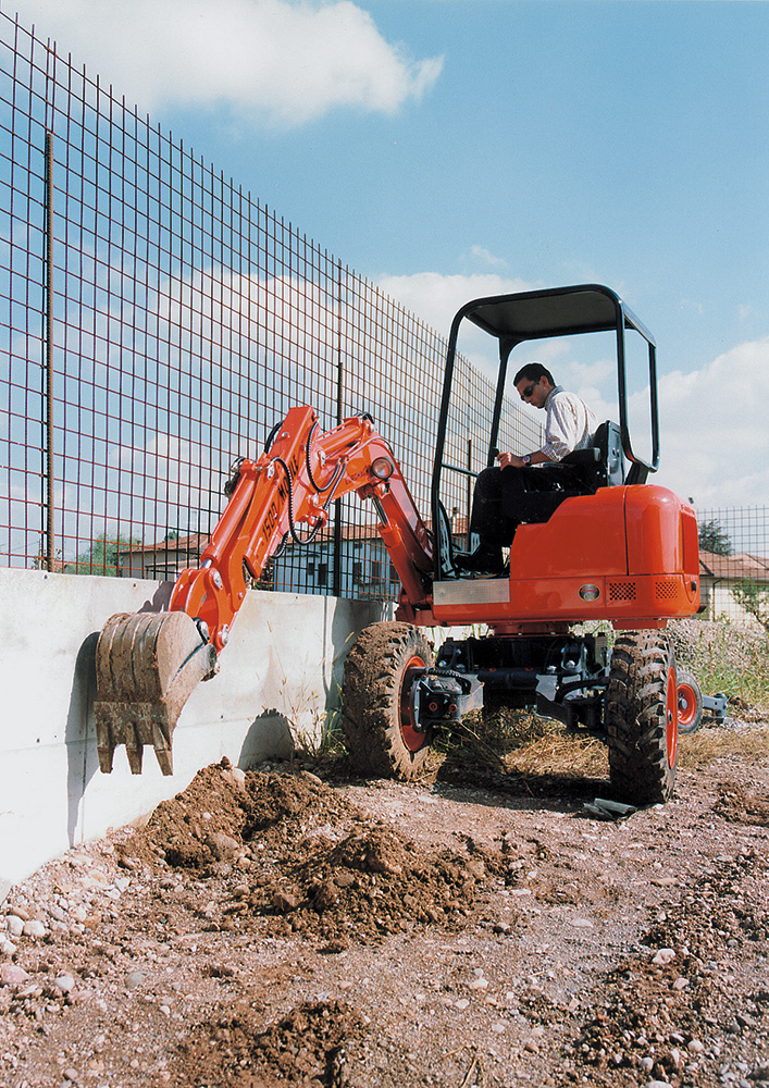 Spider mini excavator - Mobile walking excavator