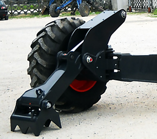 R105 Big Foot Forester - Paws with hydraulic command