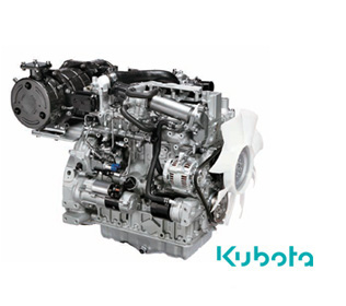 R553 - Kubota 3307 Tier 3 B with antiparticulate filter