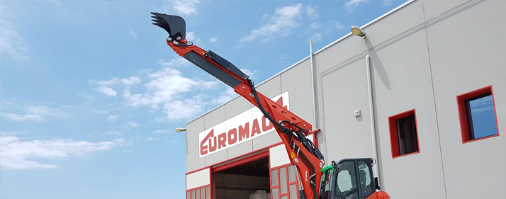 Euromach spider excavators